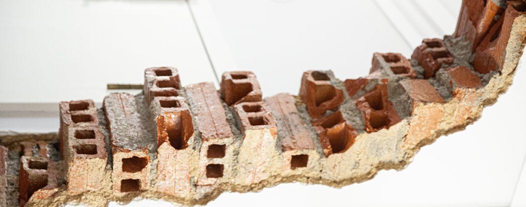 MGRA Advogados detail of bricks